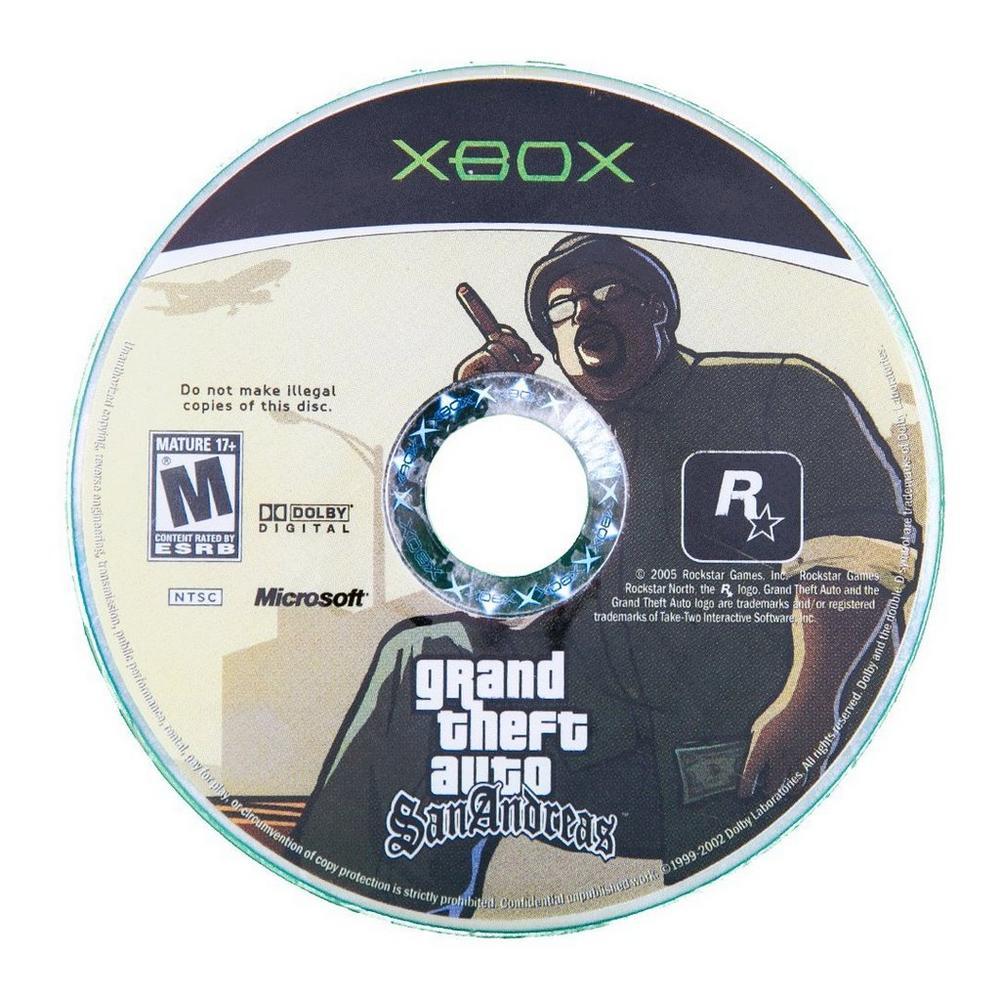 Grand Theft Auto: San Andreas | Xbox | GameStop