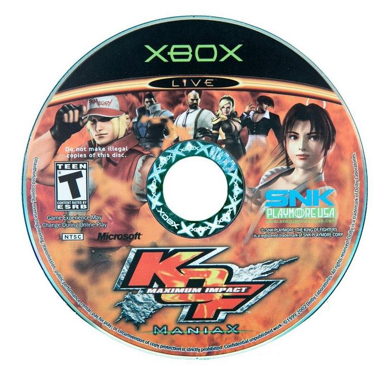 King of Fighters: Max Impact: Maniax