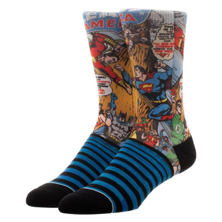 Justice League Sublimated Socks