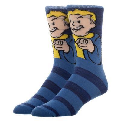 Fallout Vaultboy Stripe Socks
