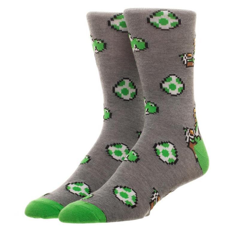 Super Mario Bros. Super Mario World Mens Socks