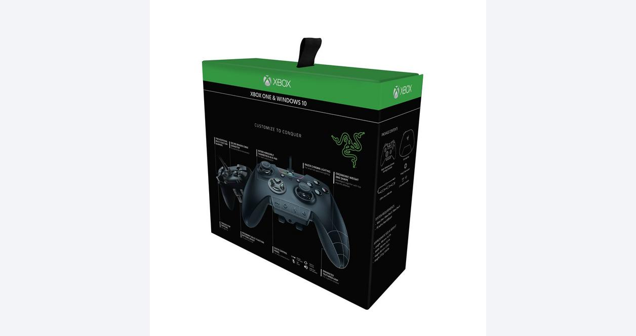 Razer Wolverine Ultimate - Chroma Enabled RGB Fully Customizable Gamepad Controller with Interchangeable Analog Sticks and Dpad