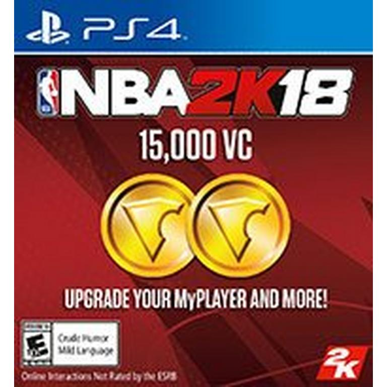 NBA 2K18 15,000 Virtual Currency