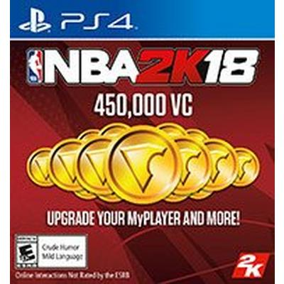 NBA 2K18 450000 Virtual Currency Digital Card