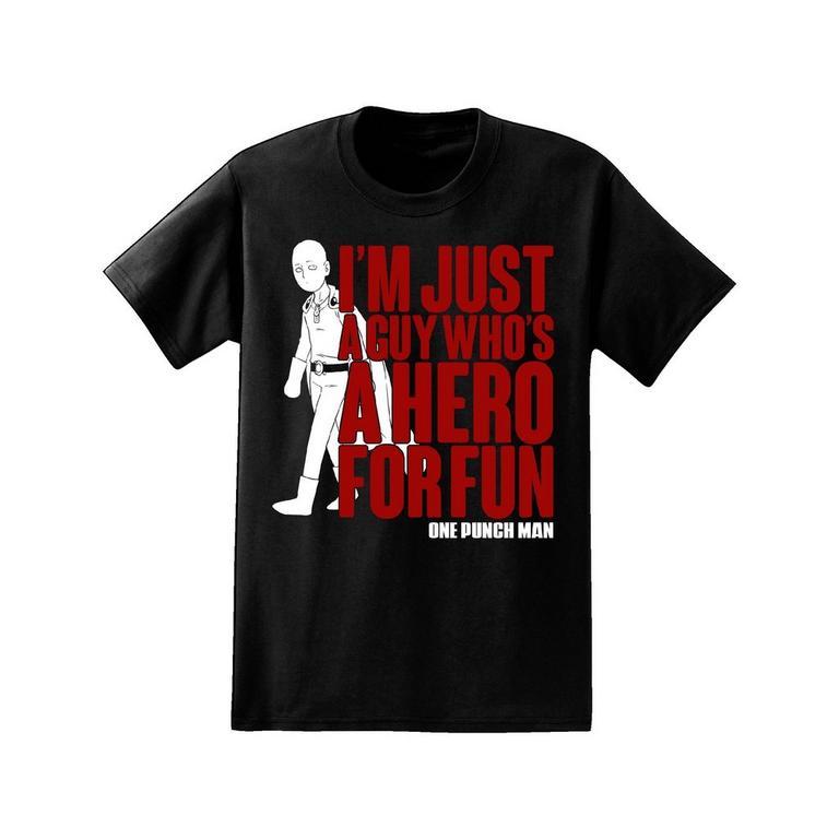One Punch Man Hero for Fun T-Shirt