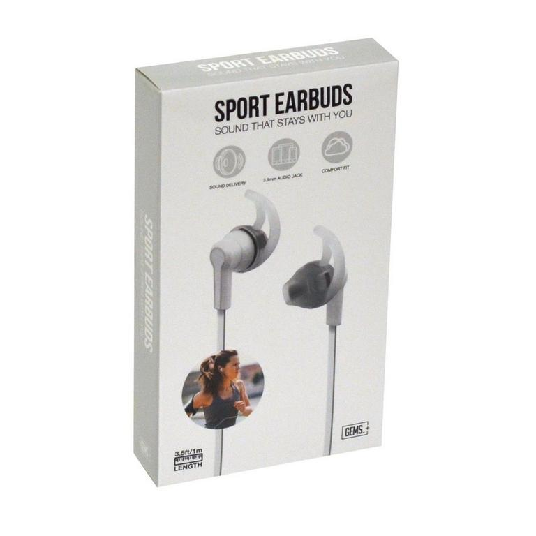 Sport Earbuds - White