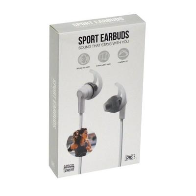White Sport Earbuds