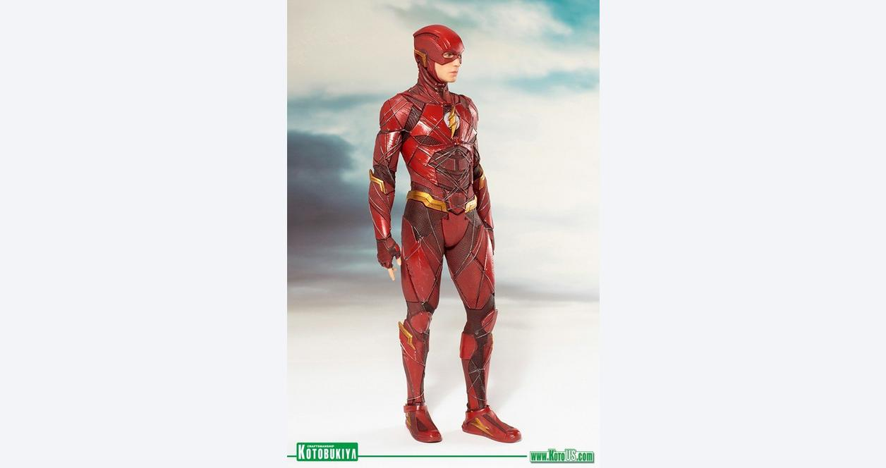 Justice League Movie The Flash ArtFX Statue