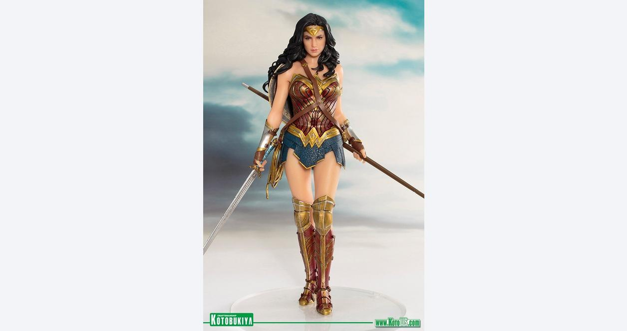 Justice League Movie Wonder Woman ArtFX Statue