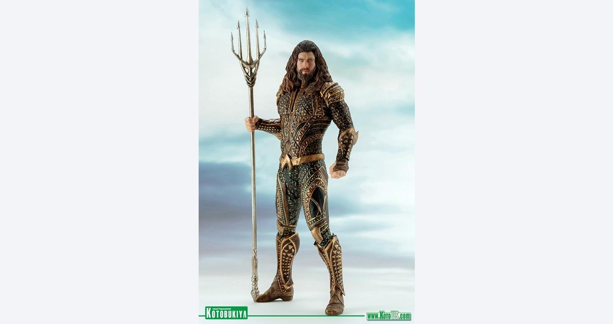 Justice League Movie Aquaman ArtFX Statue