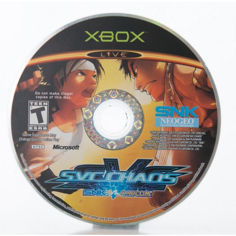 SVC Chaos: SNK vs Capcom