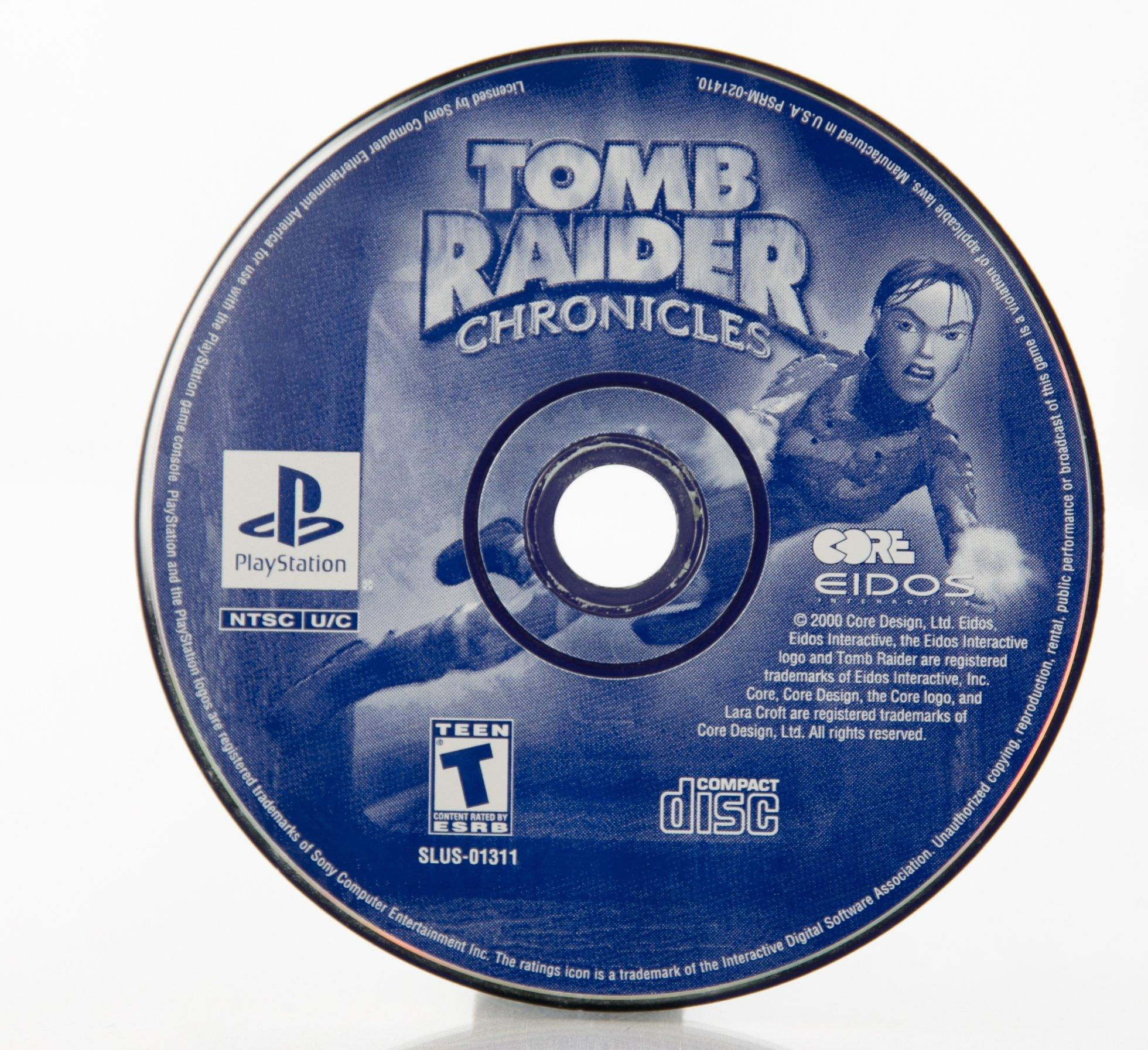 Tomb Raider Chronicles Playstation Gamestop
