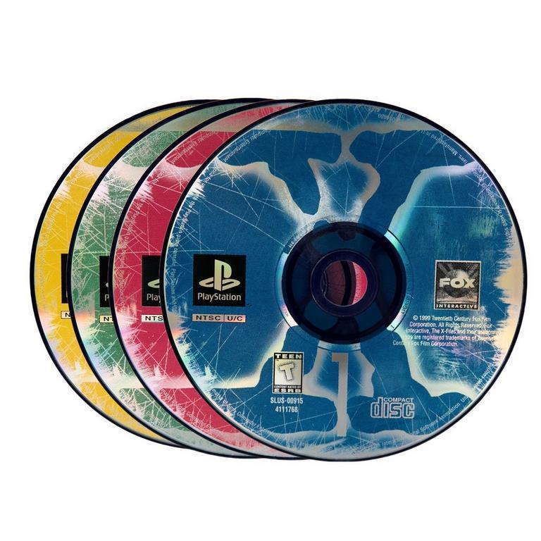 The X-Files (4 discs)
