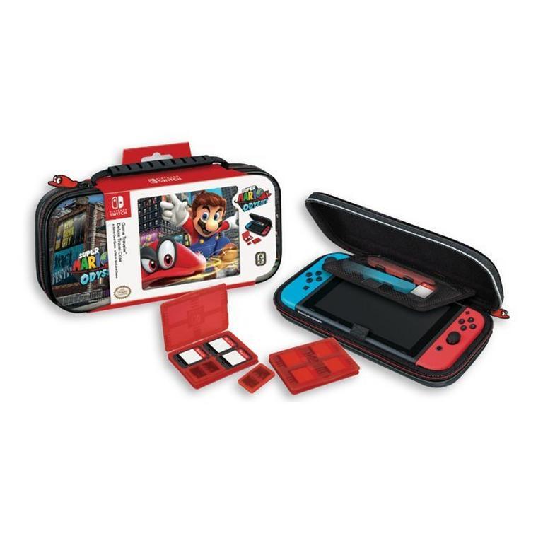Nintendo Switch Super Mario Odyssey Game Traveler Deluxe Travel Case Nintendo Switch Gamestop