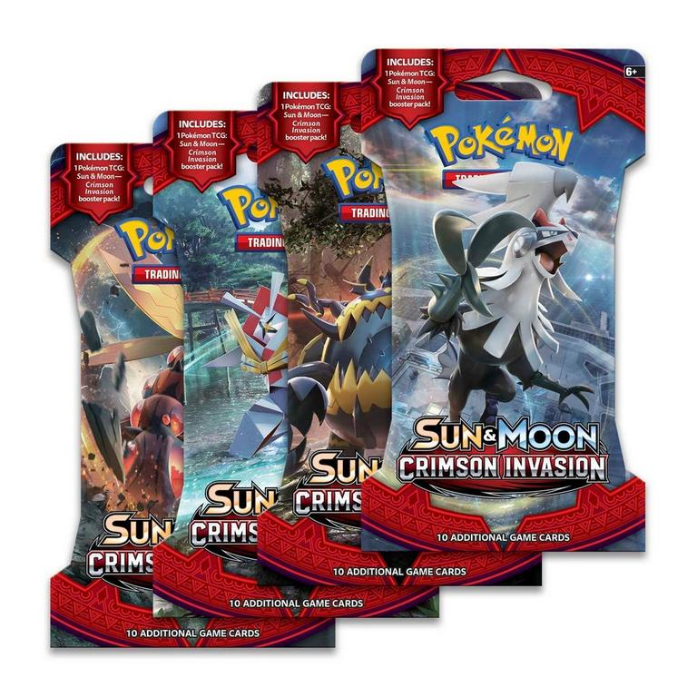 Pokemon Trading Card Game: Sun & Moon - Crimson Invasion Booster Pack