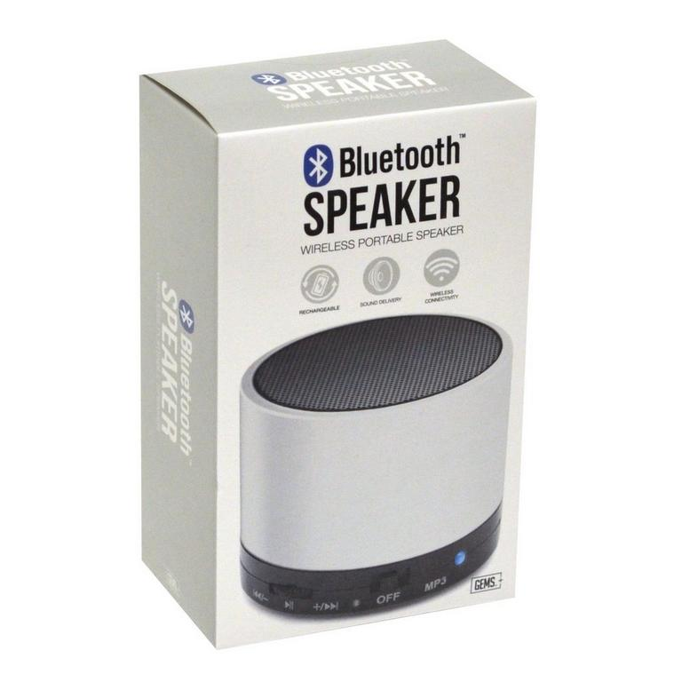 Bluetooth Portable Speaker - White