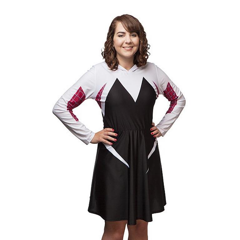 Spider-Gwen Hooded Dress