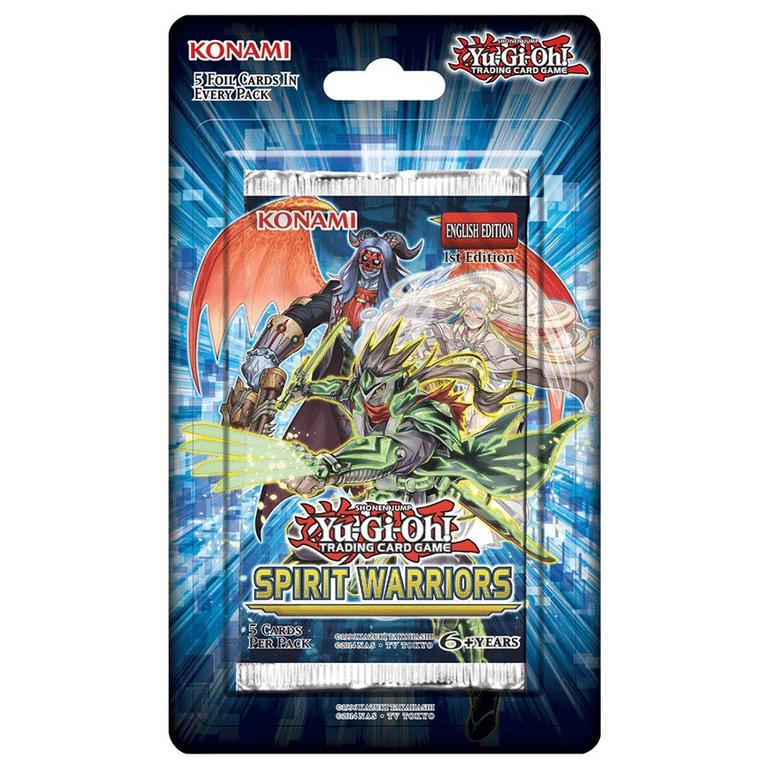Yu-Gi-Oh! Trading Card Game Spirit Warriors Booster Pack