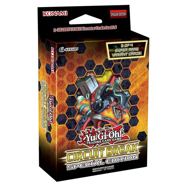 Yu-Gi-Oh! Trading Card Game: Circuit Break Special Edition 3 Booster Pack