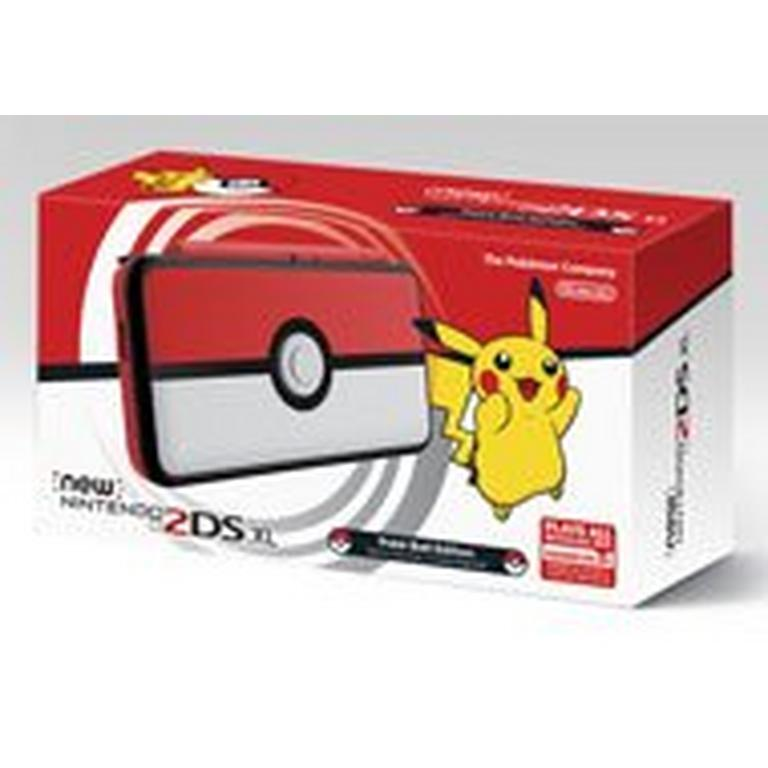 New Nintendo 2DS XL - Poke Ball Edition