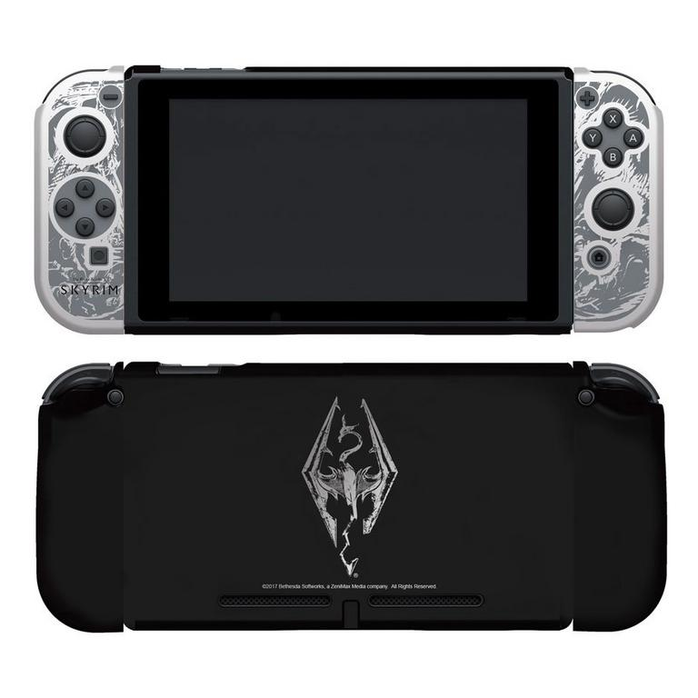Nintendo Switch Skyrim Console Clear Case - Only at GameStop