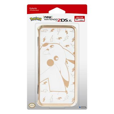 New Nintendo 2DS XL Pikachu Gold Protector Case