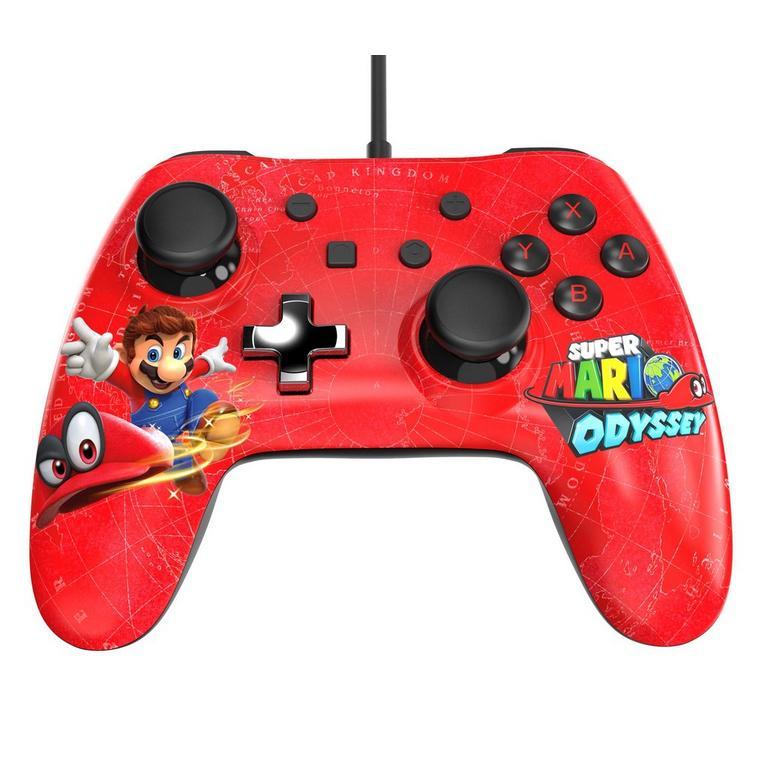 Nintendo Switch Wired Controller Plus - Super Mario Odyssey