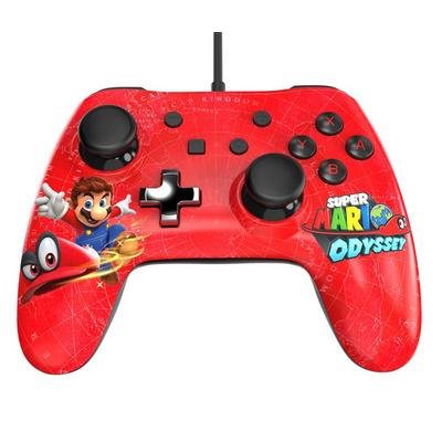 Nintendo Switch Wired Controller Plus Super Mario Odyssey