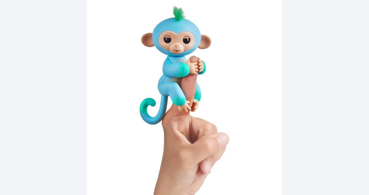 Fingerlings Charlie Blue Baby Monkey Interactive Figure
