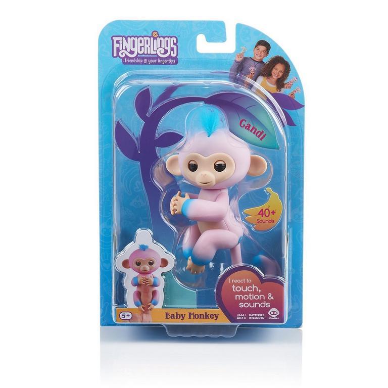 Fingerlings Candi Pink Baby Monkey Interactive Figure