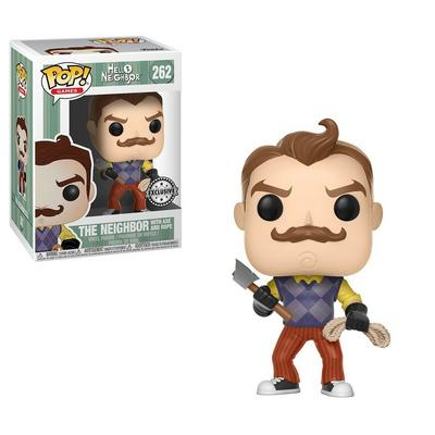 POP! Games: Hello Neighbor - Neighbor with Axe & Rope - Only at GameStop
