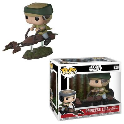POP! Deluxe: Star Wars - Princess Leia on Speeder Bike