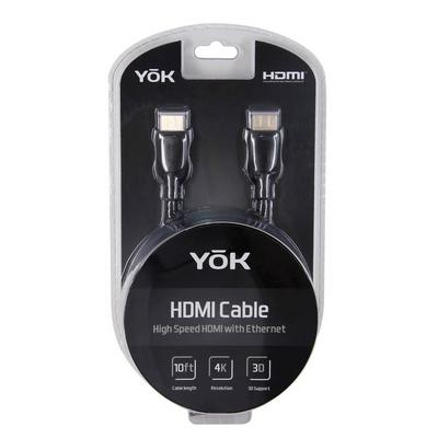 YoK 10' HDMI 2.0 Premium Cable