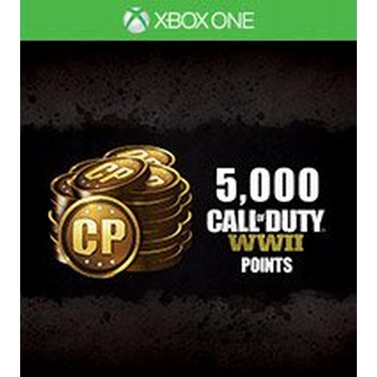 Call of Duty: WWII 5,000 Points