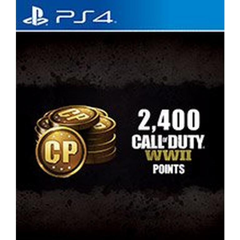 Call of Duty: WWII 2,400 Points