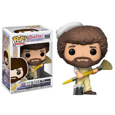 POP! TV: Bob Ross with Paintbrush