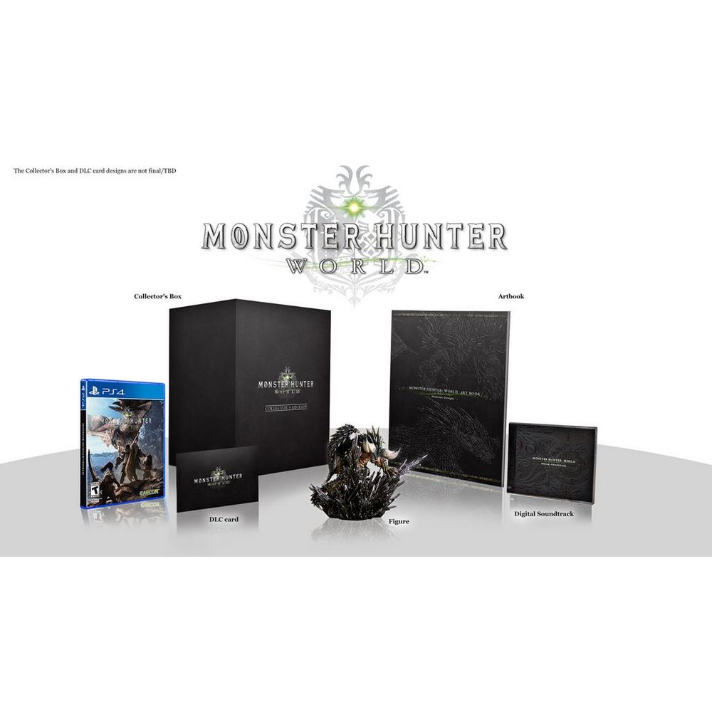 Monster Hunter: World Collector's Edition - Only at GameStop | PlayStation  4 | GameStop