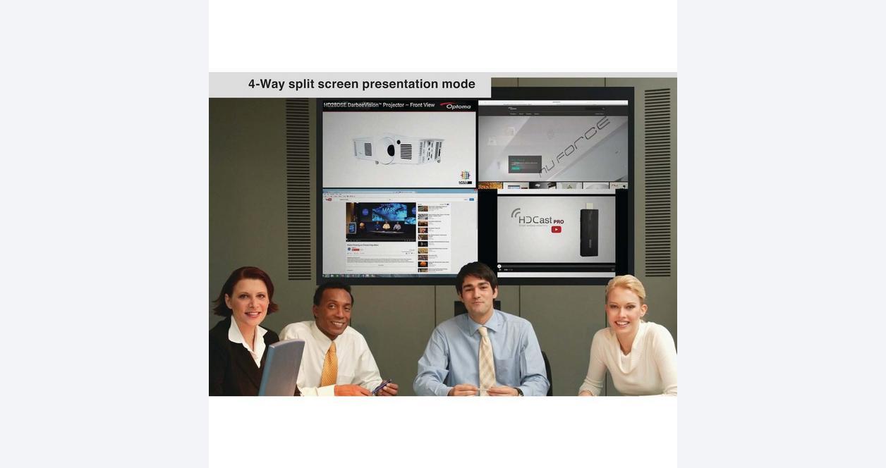 Optoma HDcast Pro Black HDcast Pro