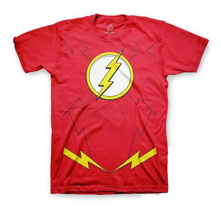 DC The Flash Costume Red T-Shirt