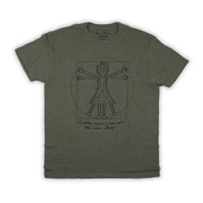 Rick and Morty Pentagram T-Shirt
