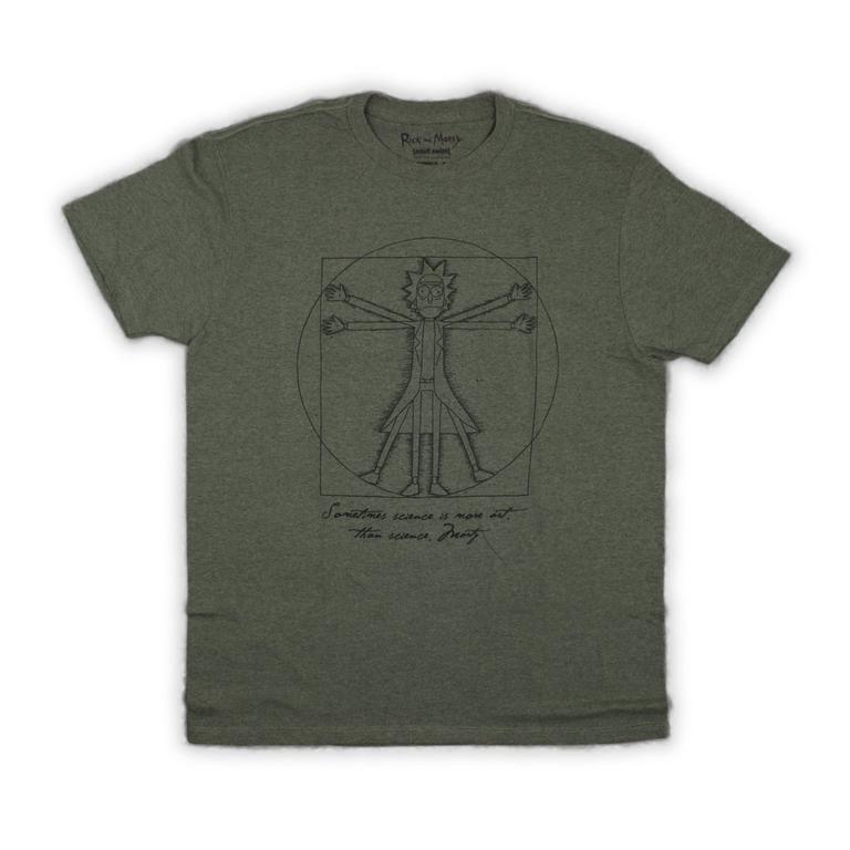 Rick and Morty Pentagram T-Shirt