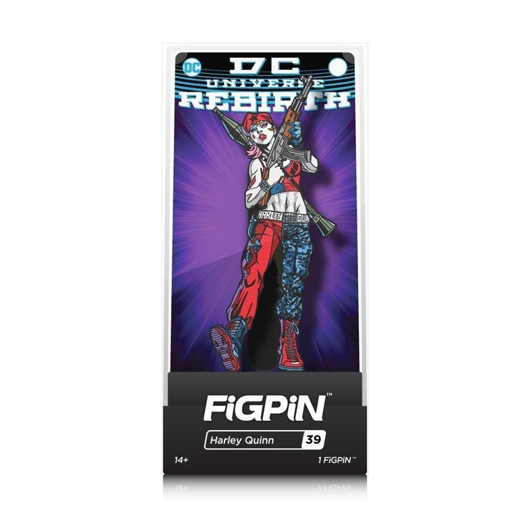DC Rebirth Batman Harley Quinn FiGPiN