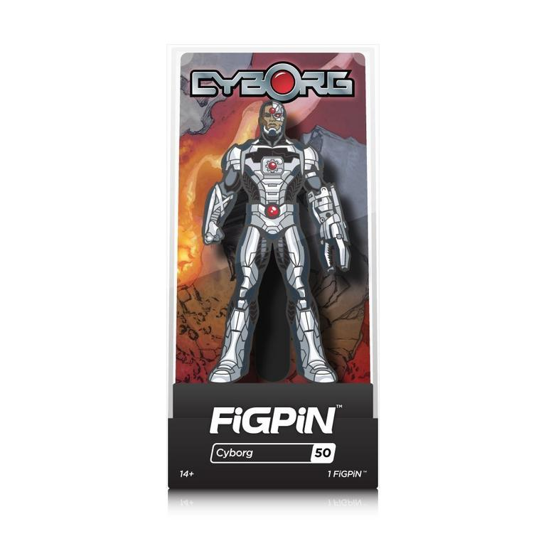Justice League Cyborg FiGPiN