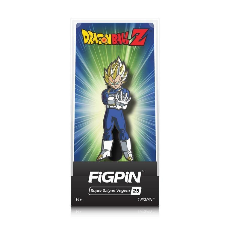 Dragon Ball Z Super Saiyan Vegeta FiGPiN