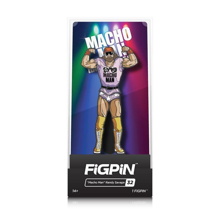 WWE Macho Man Randy Savage FiGPiN