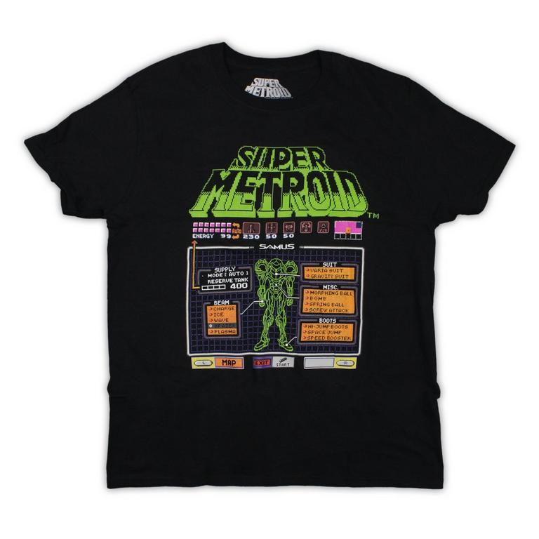 Super Metroid Samus T-Shirt