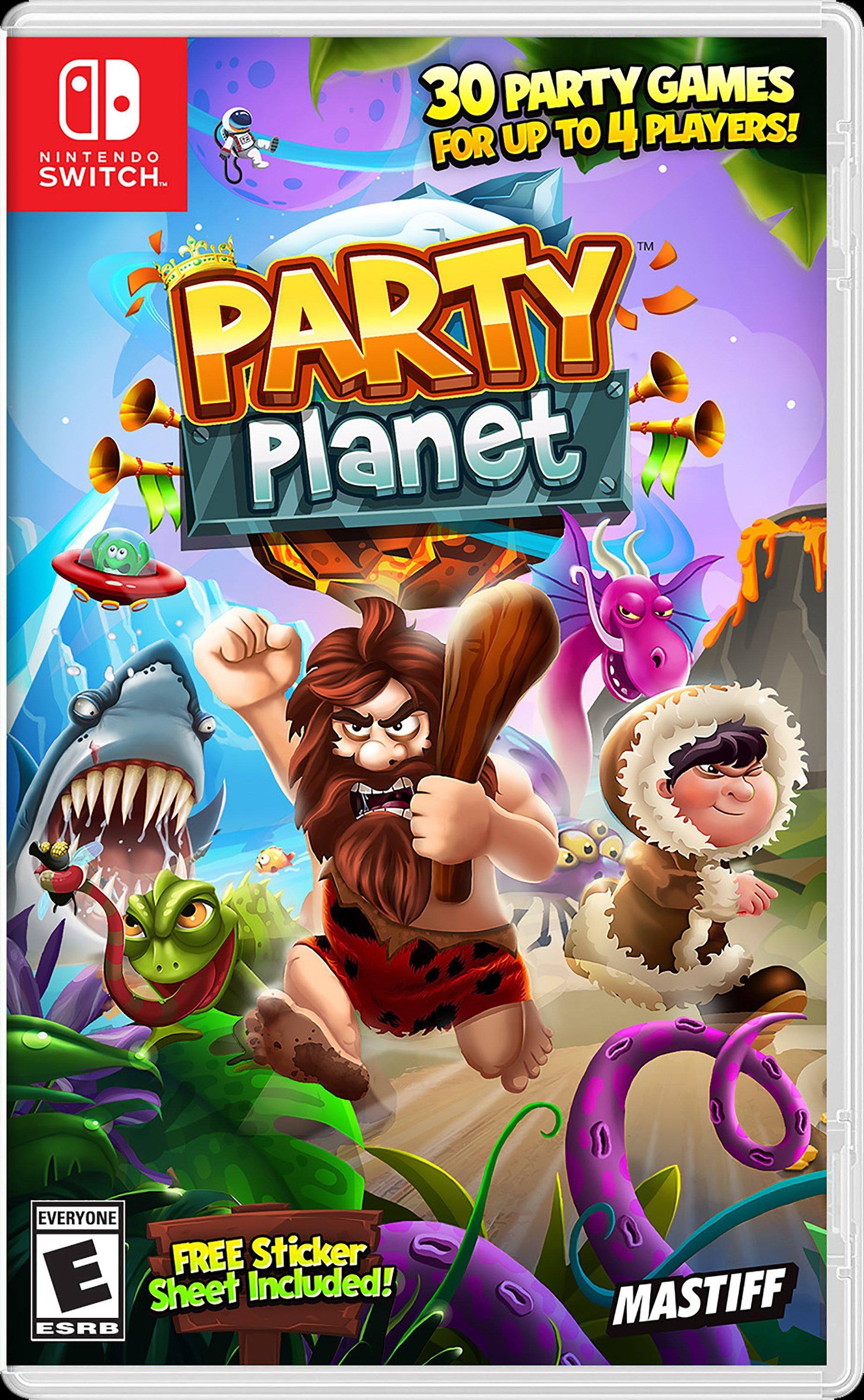 Resultado de imagem para party planet switch
