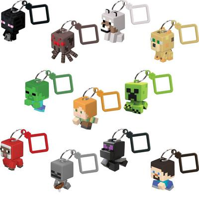 Minecraft Bobble Mobs Blind Packs Series 1 Key Chains