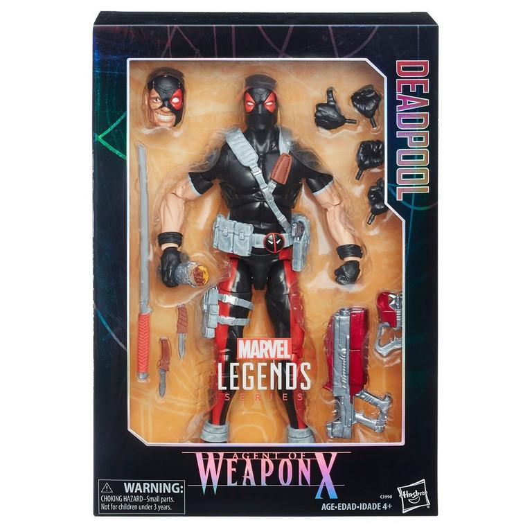 Marvel Legends Series Agent of Weapon X Deadpool 12-inch Figure - Only at GameStop