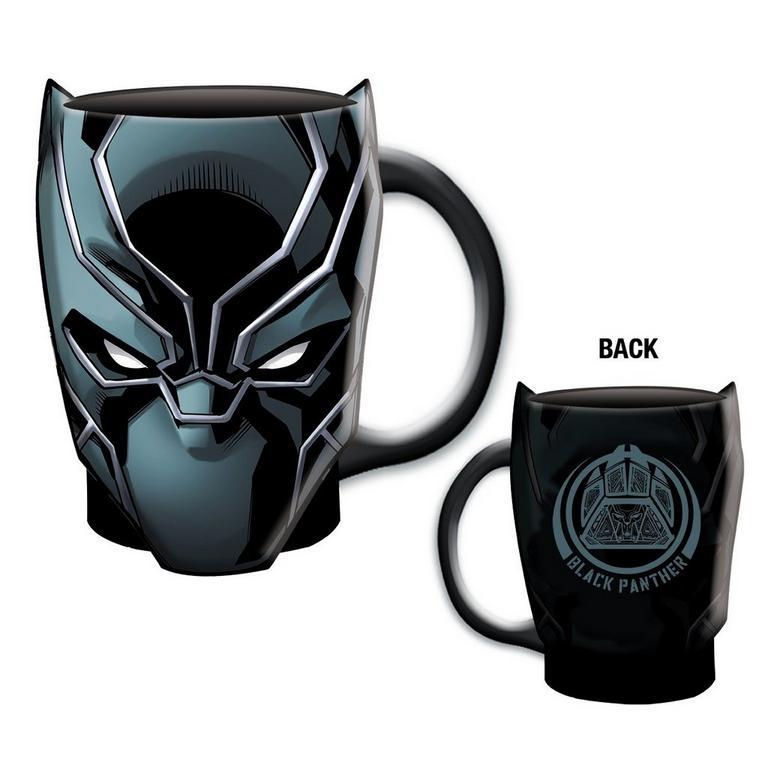 Black Panther Comic Sculpted Mug